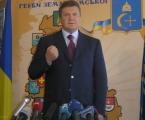 Янукович о депрессивной Сумщине и давлении на журналистов