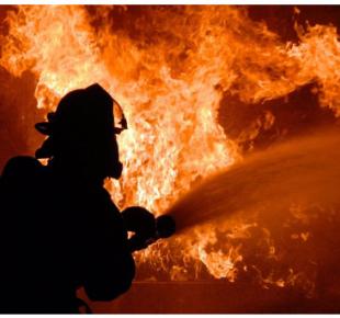 Всі Суми - На Сумщине городские спасатели тушили пожар с добровольной командой