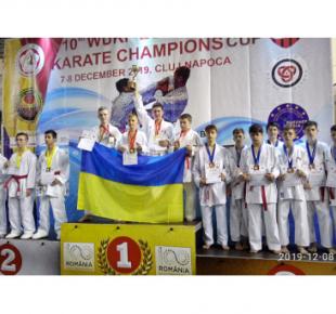 Всі Суми - Сумчане завоевали две золотые медали на Кубке чемпионов по карате