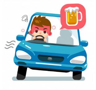 Всі Суми - В Сумах патрульные случайно обнаружили пьяного водителя, виновного в ДТП (видео)