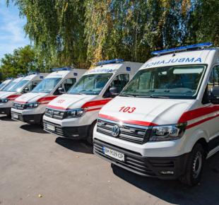 Всі Суми - Сумщина отримала ще 6 нових автомобілів екстреної допомоги