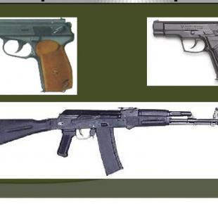 Всі Суми - На Сумщині відбулася передача навчальної зброї: АК та пістолетів Макарова