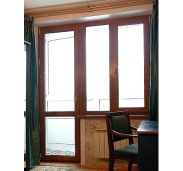 Балконные двери стиль юг.