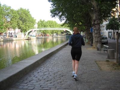 Парижане всегда в форме