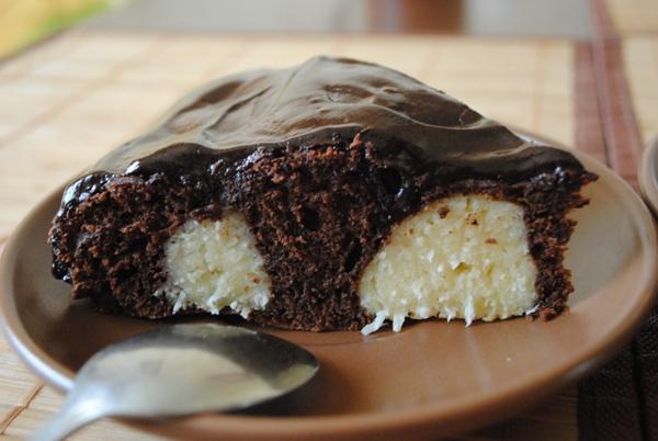 Шоколадно-творожный торт рецепт фото