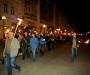 Смолоскипна хода у Сумах зібрала близько трьохсот учасників (фото)