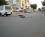 На Сумщине мопед выехал на дорогу и столкнулся с автобусом (фото)