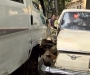 В Сумах эвакуатор смял волгу (видео)