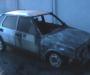 На Сумщине сгорел автомобиль (фото)