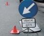 В Сумах водитель не справился с управлением и влетел в билборд