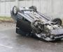 ДТП в Сумах: водители шокированы, автомобили разбиты (фото)