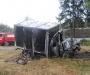 ДТП на Сумщине: в аварии чуть не сгорел водитель грузовика (фото)