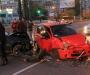 Авария в Сумах: несколько машин столкнулись, виновник ДТП сбежал (фото)