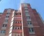 В Сумах загорелась многоэтажка (фото)