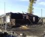 На Сумщине в результате пожара семья осталась без крыши над головой (фото)