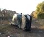 На Сумщине нетрезвый водитель не справился с управлением, вылетел на обочину и перевернулся (фото)