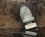 В Сумах в речку упал бетоновоз (фото)