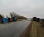 Осторожно, на дорогах Сумщины гололед, из-за этого уже произошли первые аварии (фото)