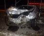 ДТП в Сумах: при столкновении водитель одного из автомобилей вылетел через заднее стекло (фото)