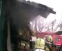 В Сумах из пожара удалось спасти пенсионерку