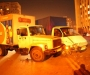 На ул. Прокофьева в Сумах столкнулись два грузовика (фото)