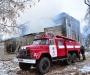 Пожар на Сумщине: в Шостинском районе сгорела церковь (фото)