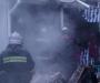 На Сумщине горел рынок (фото)