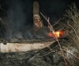 На Сумщине женщина не смогла выйти из горящего дома (фото)