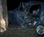 В Сумах очередной автомобиль врезался в дерево, без жертв не обошлось (фото, видео)