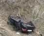 В Сумах водитель не справился с управлением и вылетел на обочину (фото)