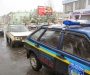 На Сумщине водитель врезался в автомобиль службы охраны (фото)