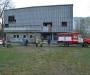 В Сумах горел заброшенный кинотеатр (фото)