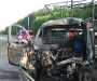 Страшная авария в Сумах: водитель сгорел заживо (фото)