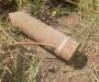 На Сумщине возле железной дороги обнаружили снаряд