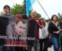 Украинские деятели искусства митингуют под посольством России