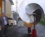 Украинский ученый создал уникальный ветровой электрогенератор