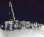 Снежные происшествия. На Сумщине фура заблокировала движение (Фото+видео)
