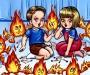 """Детский"" пожар на Сумщине"