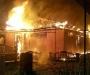 Ночной пожар в Сумах