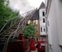 Пожар в центре Сум