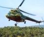 В Недригайловском районе упал вертолет