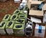 На Сумщине правоохранители задержали автомобиль с 600 бутылками алкоголя без акцизных марок