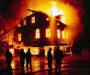 Ночной пожар на Сумщине