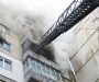 Сумские спасатели спасли из огня мужчину (Фото+видео)