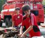 Юные пожарные соревновались в Сумах