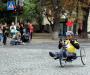 Юбилейный марафон колясочника из Сумщины (Фото)