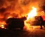 Автомобильный пожар в Сумах (Фото+видео)