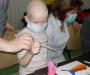 Сеанс арт-терапії пройшов у сумській дитячій онко-гематології (Фото)