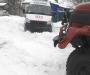 «Скорую» из снежного заноса освободили на Сумщине (Фото)