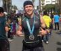 Сумчанин Тарас Шелестюк пробежал знаменитый марафон